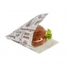 Куток для гамбургера з друком (150х125х0) - зображення