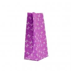 """Пакет """"Бантик фіолетовий"""" (190х95х65) - зображення"""