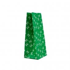 """Пакет """"Бантик зелений"""" (190х95х65) - зображення"""