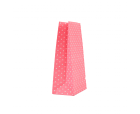 """Пакет """"Горошок рожевий"""" (190х95х65) - зображення"""