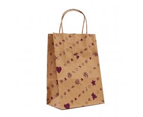 """Пакет """"Подарунок фіолетовий"""" (230х170х90) - зображення"""