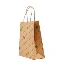 """Пакет """"Подарунок зелений"""" (230х170х90) - зображення"""