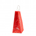 """Пакет """"Новий рік"""" з крученими ручками (335х260х140) - 2 - зображення"""
