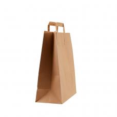 Пакет з плоскими ручками (260х250х115) - зображення