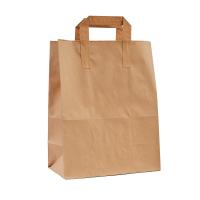 Пакет з плоскими ручками (380х320х150) - зображення