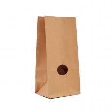 Пакет для сипучих з вікном (190х95х65) - зображення